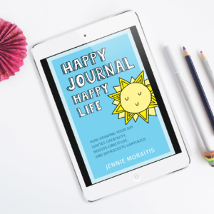 Happy Journal Happy Life by Jennie Moraitis